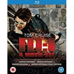 Mission Impossible Quadrilogy (1-4 Box Set (Blu-Ray)