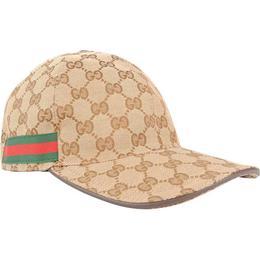 Gucci Original GG Canvas Baseball Hat - Beige/Ebony