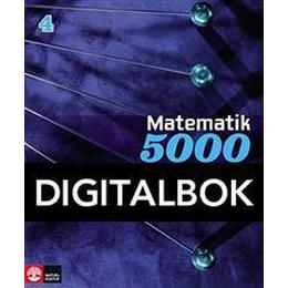Matematik 5000 Kurs 4 Blå Lärobok Digital (Övrigt format, 2015)