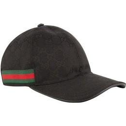 Gucci Original GG Canvas Baseball Hat - Black