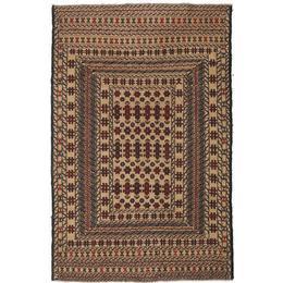 CarpetVista ACOL2810 Kelim Afghan Old Style (130x202cm) Beige