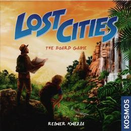 Rio Grande Games Lost Cities: The Board Game