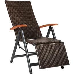 tectake Positionsstol med fotstöd