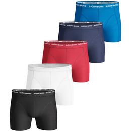 Björn Borg Solid Essential Shorts 5-pack - Multi