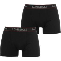 Lonsdale Trunk 2-pack - Black