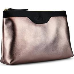 Gillian Jones Toiletry Bag - Metallic Pink