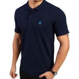 Selected Haro Polo T-shirt - Peacoat Blue