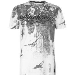 Firetrap Blackseal Birds T-shirt White