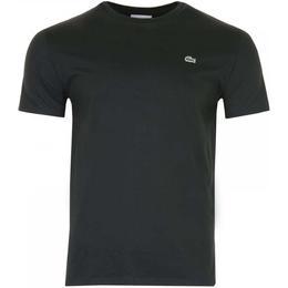 Lacoste Crew Neck Pima Cotton Jersey T-shirt - Black