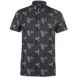 Firetrap Floral Polo Shirt - Navy/Grey