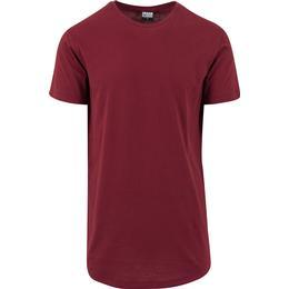 Urban Classics Shaped Long T-shirt -name Burgundy