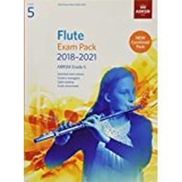 Flute Exam Pack 2018-2021, ABRSM Grade 5 (Övrigt format, 2017)