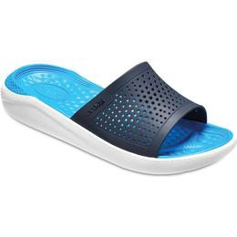 Crocs Literide Slide - Navy/White