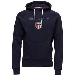 Gant Shield Sweat Hoodie - Evening Blue