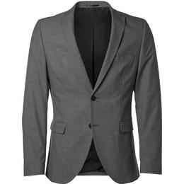 Selected Slim Fit Blazer Grey/Medium Grey Melange