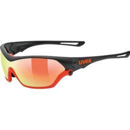 Uvex Sportstyle 705 Black Mat Orange