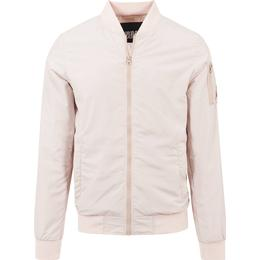 Urban Classics Light Bomber Jacket - Light Pink