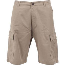 Urban Classics Camouflage Cargo Shorts - Beige