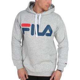 Fila Classic Logo Hoodie - Light Grey Melange