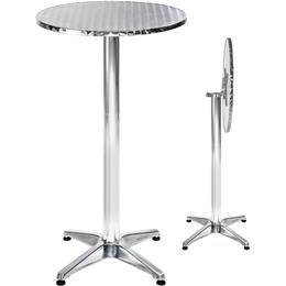 tectake Cafébord i aluminium