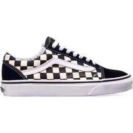 Vans Old Skool Primary Check - Black/White