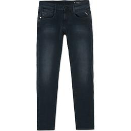 Replay Slim Fit Hyperflex+Anbass Jeans - Dark Blue
