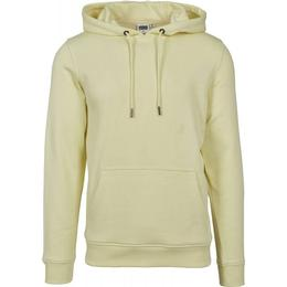 Urban Classics Basic Sweat Hoody - Powderyellow