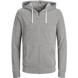 Jack & Jones Comfortable Sweatshirt - Grey/Light Grey Melange