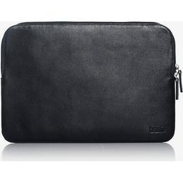 """Trunk Leather Sleeve Macbook 13"""" - Black/Brown"""