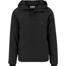 Urban Classics Padded Pull Over Jacket - Black