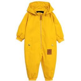 Mini Rodini Pico Baby Overall - Yellow (1921010523)