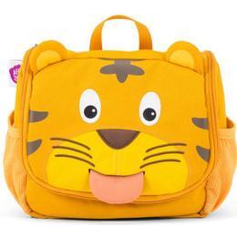 Affenzahn Timmy Tiger Toiletry Bag - Yellow/Brown