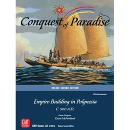 GMT Games Conquest of Paradise