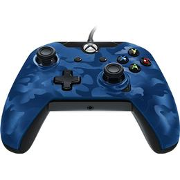 PDP Wired Controller - Blue Camo