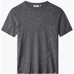 Minimum Delta Short Sleeved T-shirt - Dark Grey Mel