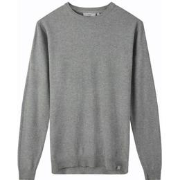 Minimum Curth Jumper - Light Grey Melange