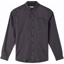 Minimum Jay 2.0 Long Sleeved Shirt - Carbon Mel
