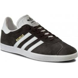 Adidas Gazelle - Dark Grey Heather/White/Gold Metallic