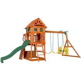 Backyard Discovery Atlantic Wooden Swing Set • Se priser ...