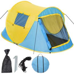 tectake Pop Up Beach Tent