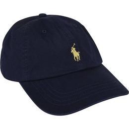 Polo Ralph Lauren Cotton Chino Baseball Cap - Relay Blue/Wicket Yellow