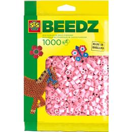 SES Creative Beedz Iron on Beads Pearl Pink 1000 Pieces 00748