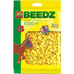 SES Creative Beedz Iron on Beads Yellow 1000 Pieces 00701