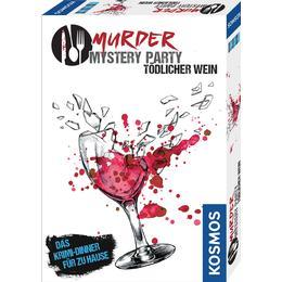 Kosmos Murder Mystery Party Tödlicher Wein