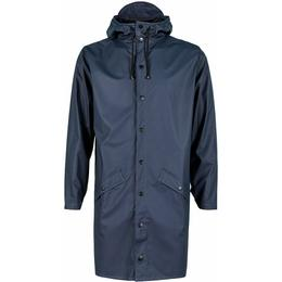 Rains Long Jacket Unisex - Blue