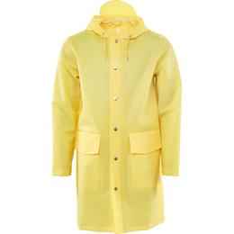 Rains Hooded Coat Unisex - Foggy Yellow