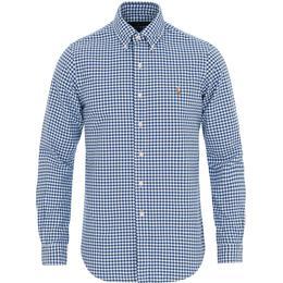 Polo Ralph Lauren Classic Fit Cotton Sport Shirt - Blue/White