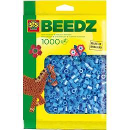 SES Creative Beedz Iron on Beads Blue 1000 Pieces 00704