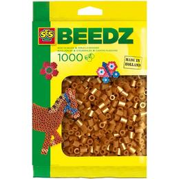 SES Creative Beedz Iron on Beads Brown 1000 Pieces 00705