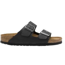 Birkenstock Arizona Soft Footbed Oiled Nubuck Leather - Black